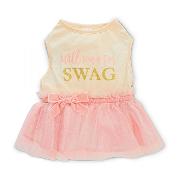 Will Wag For Swag Dog Dress